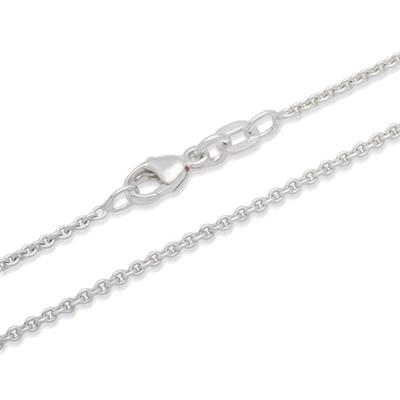 Anker halskæde i Sølv - 1,2 mm fra 36 cm