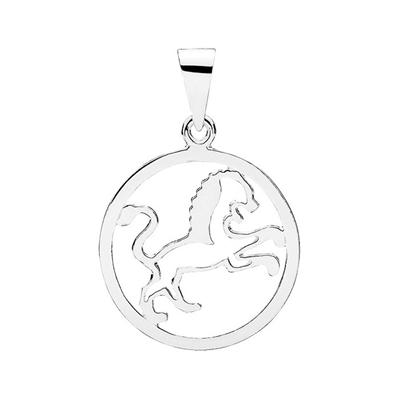 Stjernetegn i Sølv med Løven