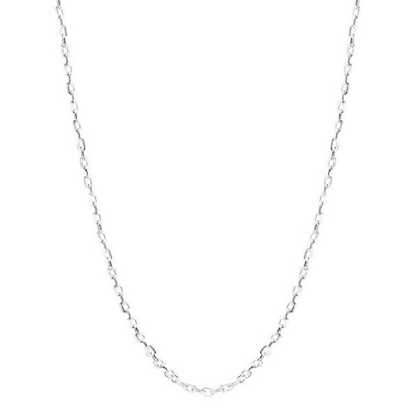 Flad Anker Halskæde i Sølv - 1,5 mm fra 42 cm