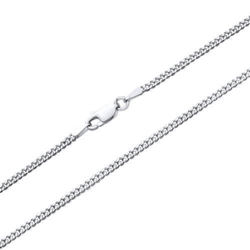 Panser halskæde Sølv - 1,8 mm fra 38 cm